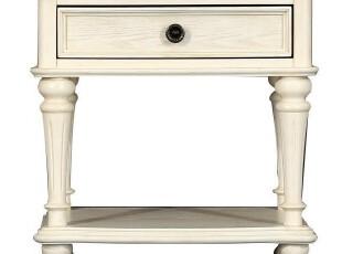 华日家居美式经典新品特价正品卧房套法国洛可可床头柜华日家具,收纳柜,