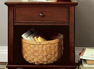实木床头柜 卧室家具定制 点木工坊直销 现代时尚简约环保,收纳柜,