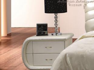 博乐世家 床头柜 皮艺 时尚 宜家 简约现代 特价 直销 BL-36,收纳柜,