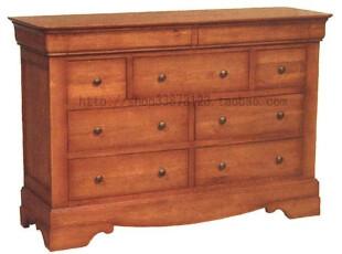 皇家橡树 橡木实木九斗柜 衣柜 F10,收纳柜,