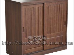 『青岛外贸出口日本家具』和风双门鞋柜 80厘米宽,收纳柜,