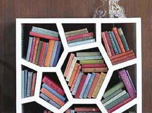 北京 法瑟米家具 现代简约 烤漆书柜 创意书柜 书架 蜂窝,收纳柜,