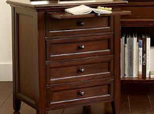 美式简约家具 实木床头柜 天津市点木家具厂,收纳柜,