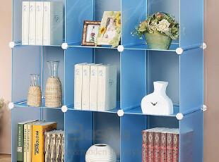 柏丝纳宜家特价自由组合书柜 简易学生书架 创意欧式儿童组合书柜,收纳柜,