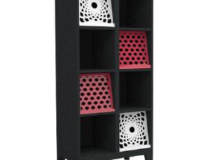宜可宜居原创品牌 Lily开放式小书柜 简约书橱/创意设计,收纳柜,