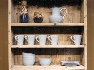 [多美生活]家居/新品/美式乡村/做旧木制壁挂柜/收纳柜/储物柜,收纳柜,