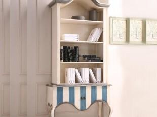 野橡 yeoak 地中海 书柜 柜子 桦木 实木 美式乡村 欧式 全实木,收纳柜,