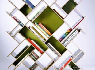 北京 法瑟米书架 现代简约书架 创意书柜 书架 闪,收纳柜,