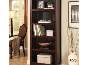 外贸家具宜家五层书柜 木质书架书柜新款酒店 家具实木书柜特价,收纳柜,