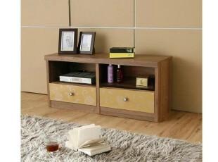 汉人居-韩式实用储物柜/时尚矮地柜/白色田园卧室电视柜SC28,收纳柜,