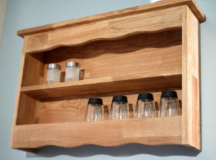 宜家风格/出口欧洲/橡木柞木免漆擦油环保/2层厨卫餐多用壁柜,收纳柜,