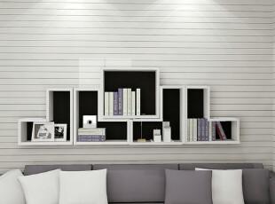 创意家居 现代简约 敞开式书架 简易吊柜  可定制 书柜SG-44,收纳柜,