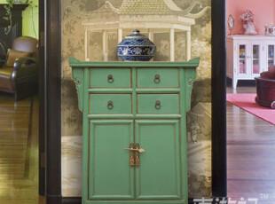 【东游记.出口家具】Z新中式仿古家具 玄关柜小展柜 特价,收纳柜,
