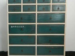简约现代十六斗柜 储物柜 带抽屉收纳柜 实木 家具 可订做,收纳柜,