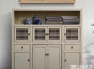 【东游记 出口家具】Z中式复古 储物柜/玄关柜/餐边柜,收纳柜,