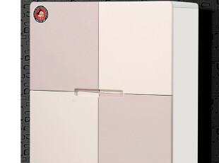 优居家具 烤漆木质 超薄鞋柜 现代简约田园创意门厅柜玄关柜2-90,收纳柜,