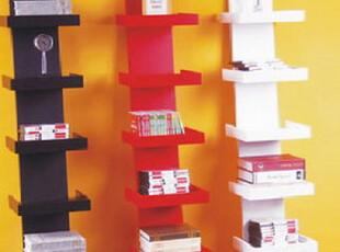 创意壁架亮光漆梯形置物架隔板创意书架搁板墙架,收纳柜,