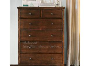 美式家具 实木家具 欧式家具 定制家具 卧室家具 实木斗柜定制,收纳柜,
