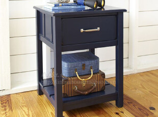 美式欧式家具 实木家具 定制家具 卧室家具 实木儿童房床头柜定制,收纳柜,