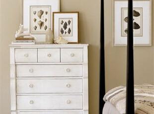 美克美家乡居岁月斗柜定制环保实木家具定制 CP-MJXY-DG-P01,收纳柜,