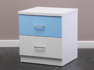 金天拓 纯真岁月儿童床头柜 简约床头柜 储物柜 小收纳柜子 849,收纳柜,