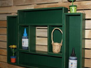 清仓 壁挂式收纳柜 新款 经典绿色环保家居 原木收纳柜 手工做旧,收纳柜,