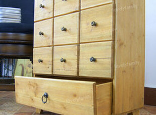 ZAKKA杂货 十抽收纳架 小物件收纳柜 日式杂货收纳柜,收纳柜,
