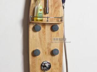 【简意】外贸出口欧洲原单/实木家具/橡胶木/淋浴屏,收纳柜,