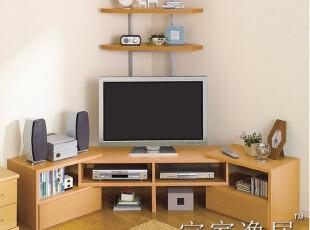 宜家逸居 落地式电视柜 视听柜 伸缩柜 客厅电视柜 可定制 DS001,收纳柜,