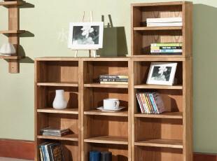 宜家简约风格/实木柜橡木柜杂物柜/4层CD柜,收纳柜,