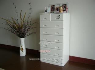 新款纯白色斗柜、组合衣柜、欧式储物柜【外贸产品】,收纳柜,