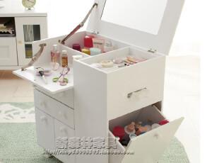 【现货热销中】出口日本沙发边角柜 化妆台 化妆柜 化妆品收纳柜,收纳柜,
