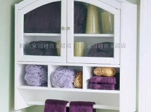美式家具 外贸原单 欧式田园 浴室 药柜/墙柜/毛巾柜 SHT961,收纳柜,