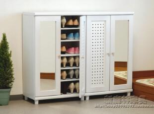 【出口家具鞋柜】多孔鞋柜、镜子鞋柜、独特鞋柜,收纳柜,