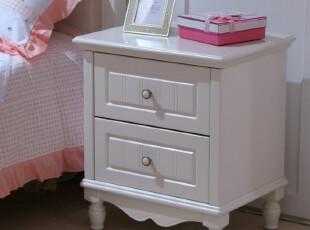 和购 田园家具 简约柜子 储物收纳柜 实木床头柜 田园床头柜 011,收纳柜,