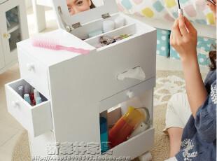 出口日本家具 化妆台 化妆柜 化妆品收纳柜 首饰柜,收纳柜,