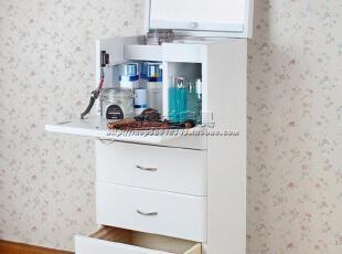 出口日本实木物品分类储物柜/大容量化妆品储物柜/化妆台,收纳柜,