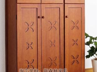 疯狂热销超级精美欧式实木鞋柜/超大容量/出口环保家具/玄关柜,收纳柜,