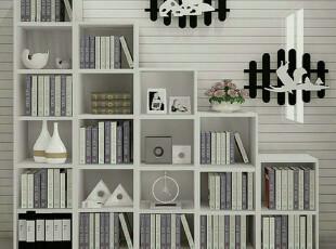 现代简约书柜展示柜书橱客厅隔断柜书架创意家居 SG -50,收纳柜,