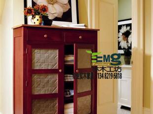 【林木工坊】美克美家 欧式美式 实木家具-橱柜/玄关柜/间厅柜,收纳柜,