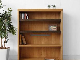 木聪良品家具日式实木北欧现代风格白橡木 书桌书架 书柜SD-500-2,收纳柜,
