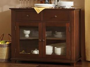 (仿Harbor House家具EBC025)Parker 餐边柜/美式柜/美式家具,收纳柜,
