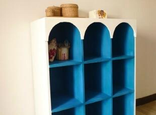 特价可订做地中海隔断柜玄关柜田园展示柜餐柜全实木家具宜家创意,收纳柜,