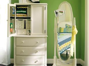 PotteryBarn环保实木衣柜定制儿童家具定做 CP-YHLC-YG-P01,收纳柜,