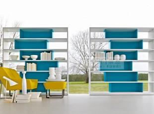 工厂直销外贸 简约大气北欧风格 格子架 书柜 书架 书橱 特价促销,收纳柜,