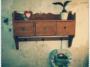 渐行渐远渐无书—地中海家具实木吊柜 置物架 昨日乡村 壁挂装饰,收纳柜,