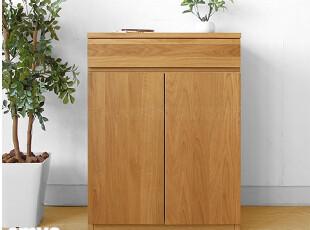 emvo 日式家具 北欧风格 水曲柳/木质 储物柜YC-76收纳柜/鞋柜,收纳柜,