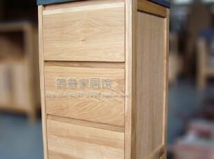 【简意】外贸出口欧洲原单/实木浴室柜/美国白橡木/侧柜,收纳柜,