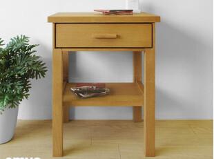 emvo日式家具 北欧风格 水曲柳/木质YC72床头/收纳柜/边柜/储物柜,收纳柜,