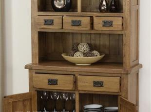 【木e族】rx欧洲热销欧洲热销全实木白橡木餐边柜碗柜酒柜陈设柜,收纳柜,